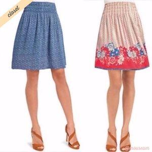 [CAbi] 767 Reversible Floral Skirt